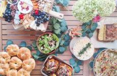 graze table flatlay